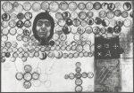 I. kapitola / The 1st Chapter 1969, linoryt z hloubky / intaglio linocut / 50,3x35cm