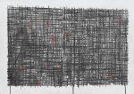 Záchyt / Catch up, 2020, akvatinta, šablona / aquatint, stencil / 69,5 × 99,5 cm